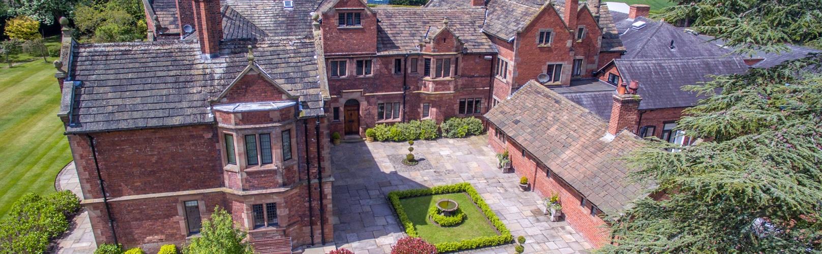 Colshaw Hall Entrance