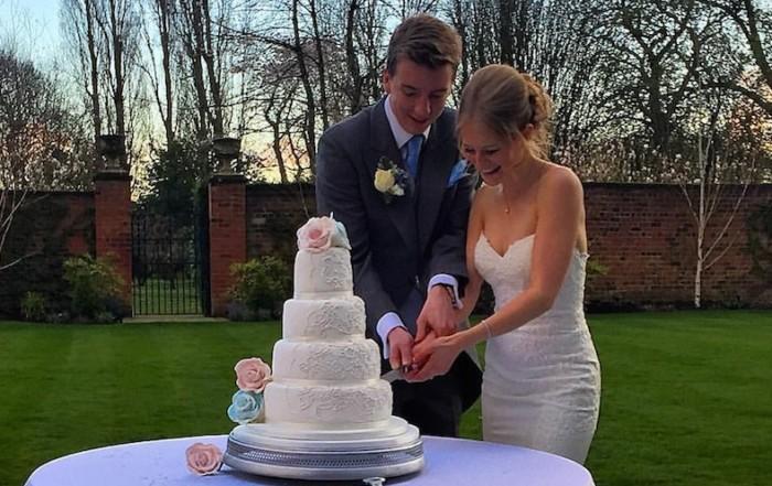 Colshaw Hall Bride and Groom