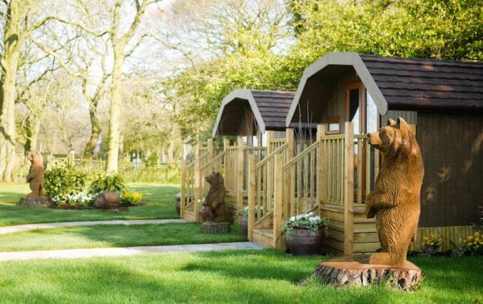 Eco Lodges at Colshaw Hall
