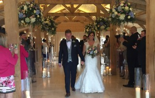 Picture of Bride & Groom at Colshaw Hall