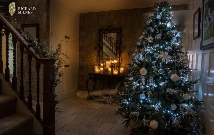 Christmas Tree at Colshaw Hall