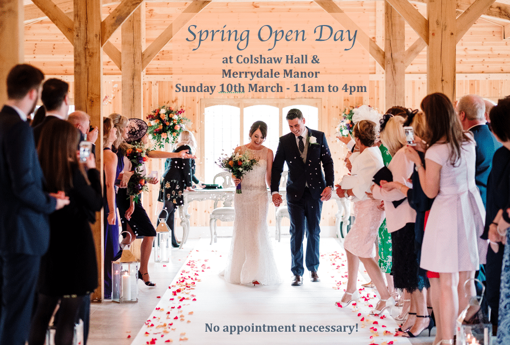Spring Open Day 10th March