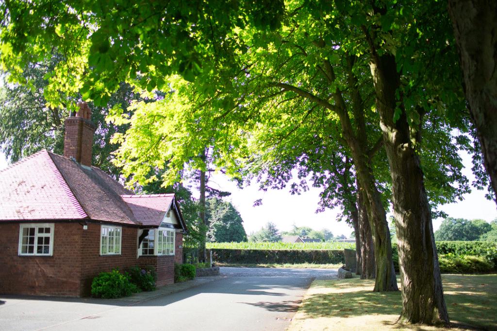 Irlam lodge at Colshaw Hall