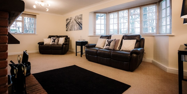 Irlam Lodge Bedroom at Colshaw Hall