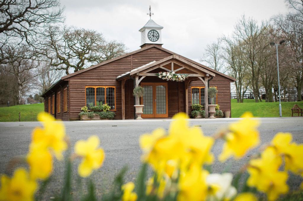Spring weddings at Colshaw Hall