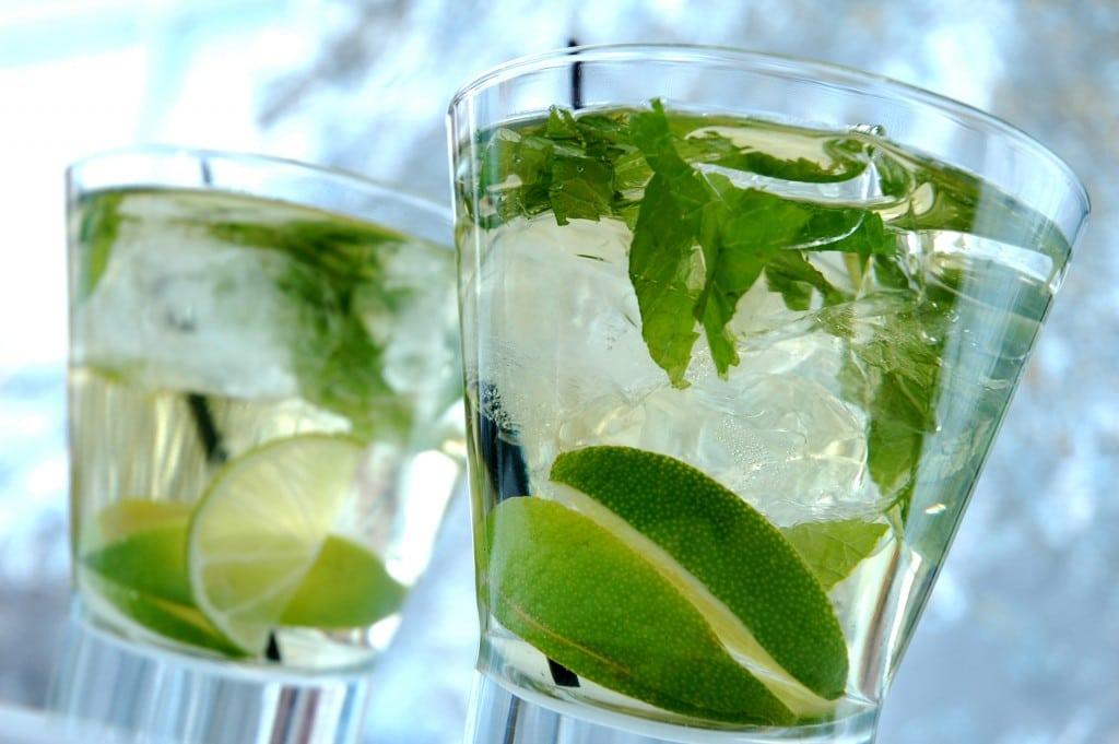 Gin and tonic at Colshaw Hall