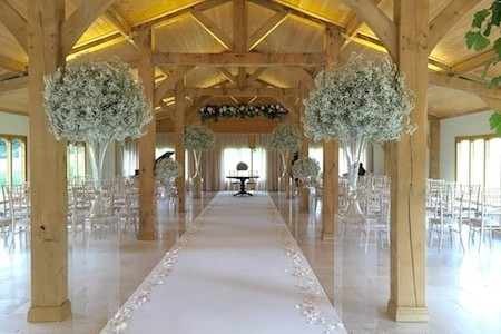 Ceremony Room at Colshaw Hall